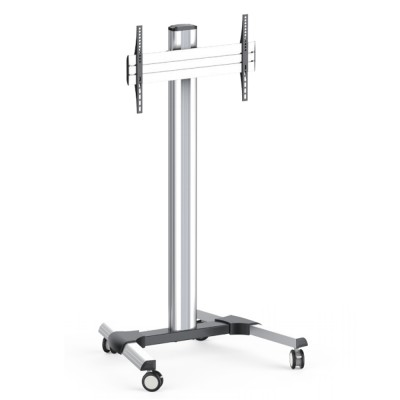 Tilting Floor Stand Digital Screen Trolley